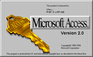 Microsoft Access 2 logo