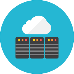 Web cloud icon